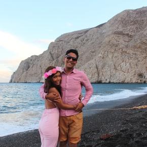 The Beautiful Santorini: Ammoudi Bay and KamariBeach