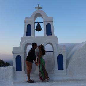 The Beautiful Santorini: RedBeach
