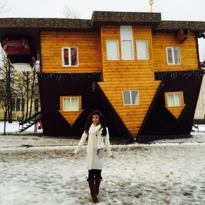 A Little House called Upside Down in Russia