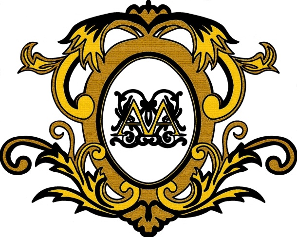 adam and alisa wedding logo