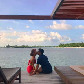Let the sea set you free: Wedding Anniversary Maldives Edition